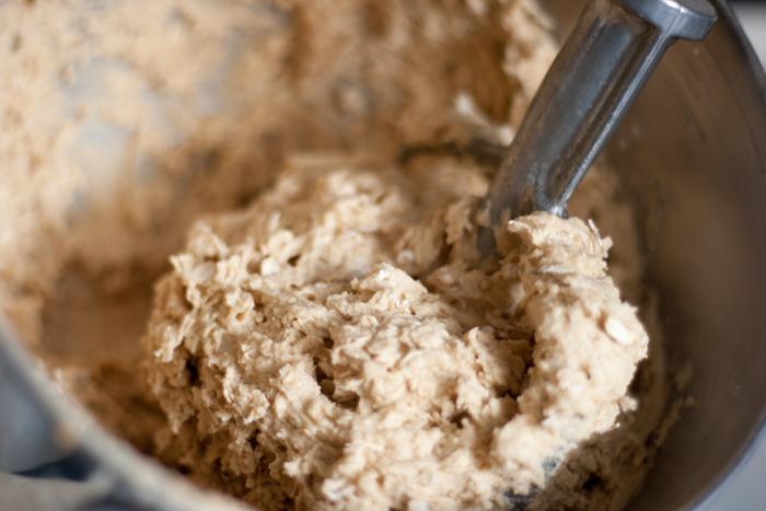 Peanut Butter Bars dough