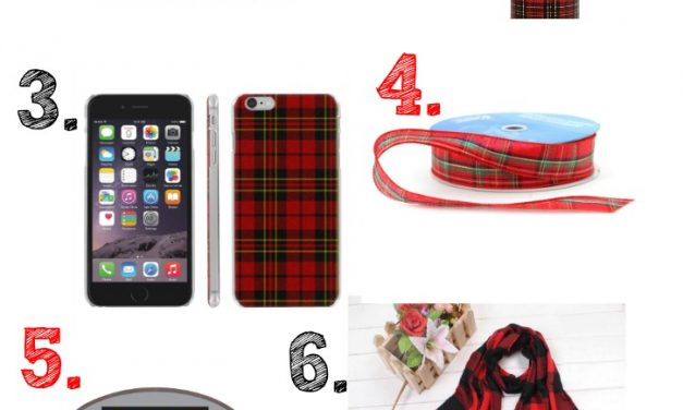 How to Make it a Plaid Christmas – Gifts and Ideas