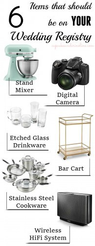 What Should be on Your Wedding Registry from cupcakesandcrinoline.com #TargetWedding #spon