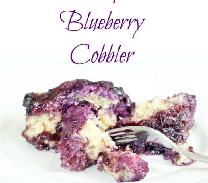 Berry Cobbler in a Crockpot