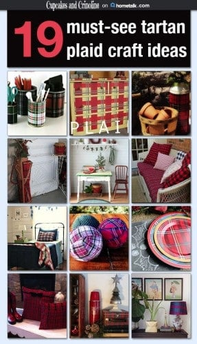 Tartan Plaid Decor and Crafts