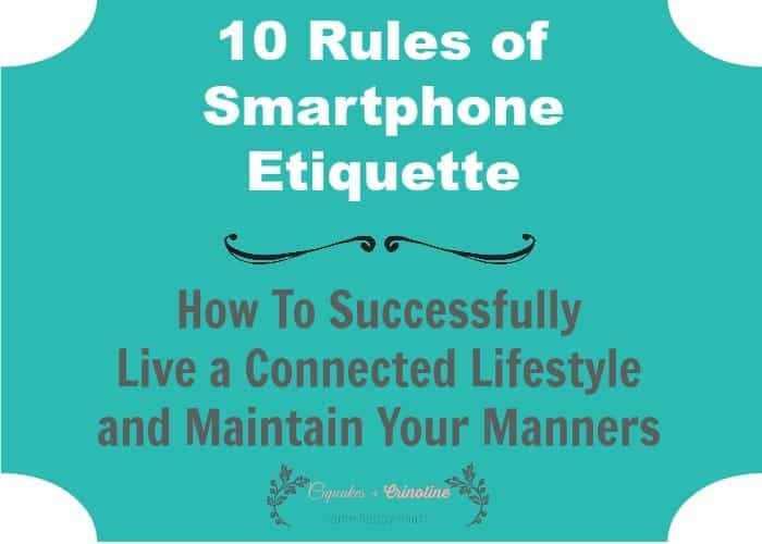 10 Rules of Smartphone Etiquette