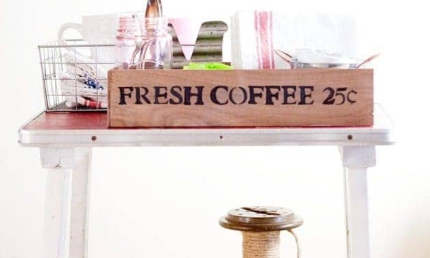 Coffee Station Organization
