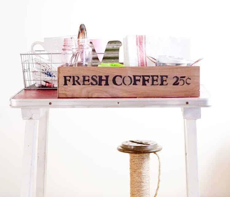 Coffee Station Organization