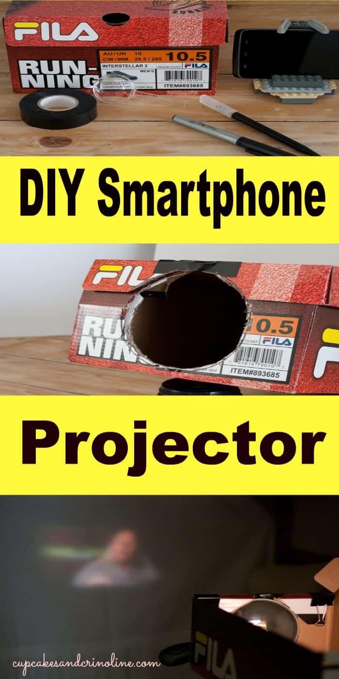 DIY Smartphone Projector from cupcakesandcrinoline.com