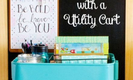 30+ Ways to Organize with a Utility Cart