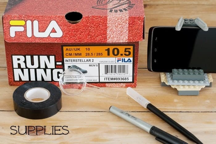 Smartphone projector supplies from cupcakesandcrinoline.com