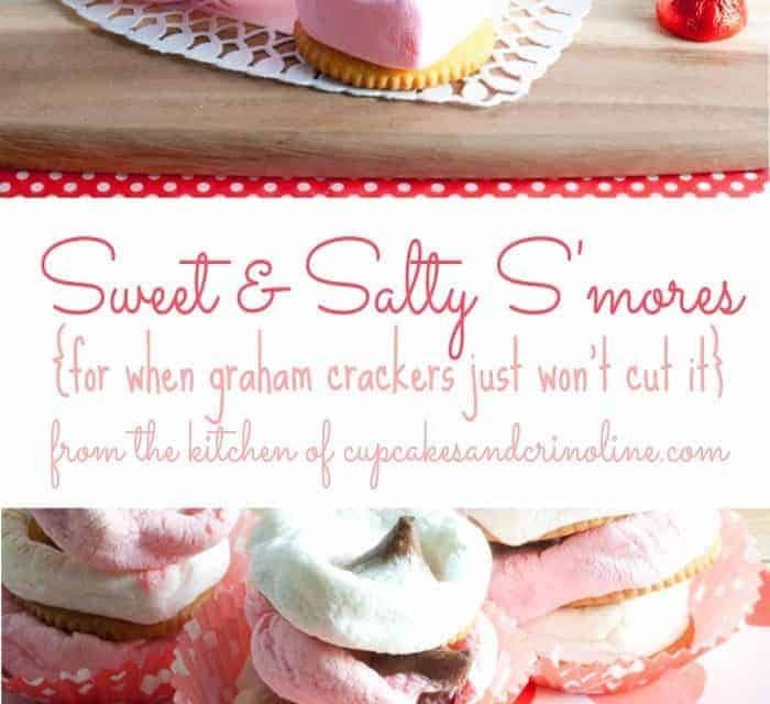 Sweet and Salty S'Mores