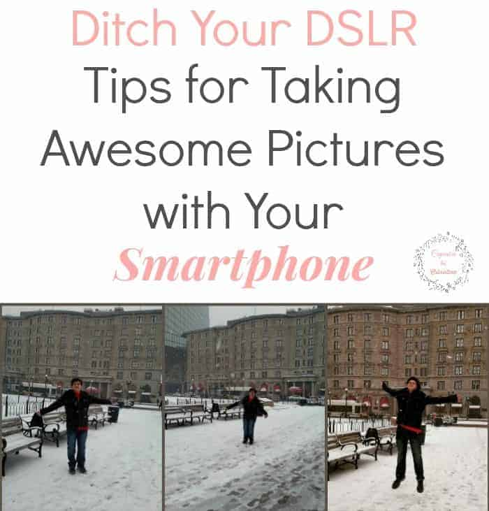 Ditch Your DSLR Tips for Taking Awesome Pictures with Your Smartphone from cupcakesandcrinoline.com #VZWBuzz #MoreVA