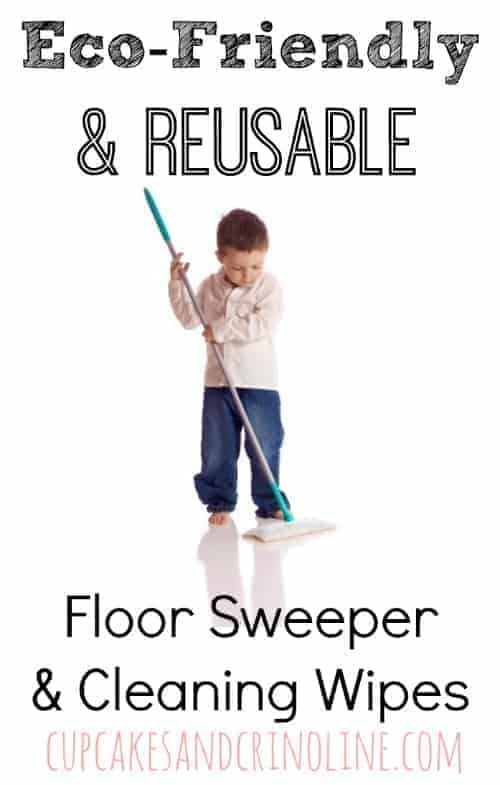 Eco-Friendly and Reusable Floor Sweeper and Cleaning Wipes from cupcakesandcrinoline.com #ZepSocialstars