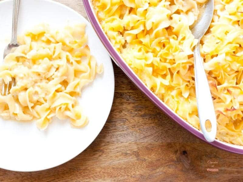 Egg Noodle Pudding