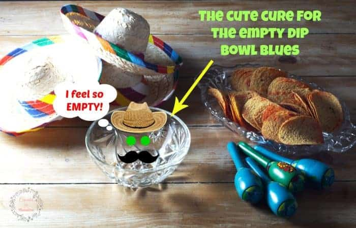 The cute cure for the empty dip bowl blues #AD #PringlesAirDip