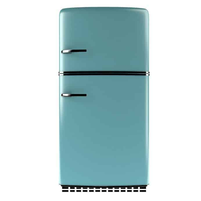 Keep your refrigerator clean inside and out to keep odors at bay ~ cupcakesandcrinoline.com
