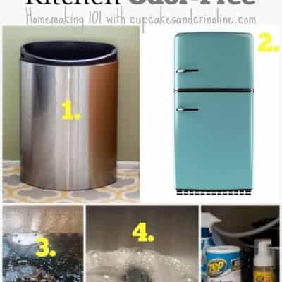 5 Tips for an Odor-Free Kitchen