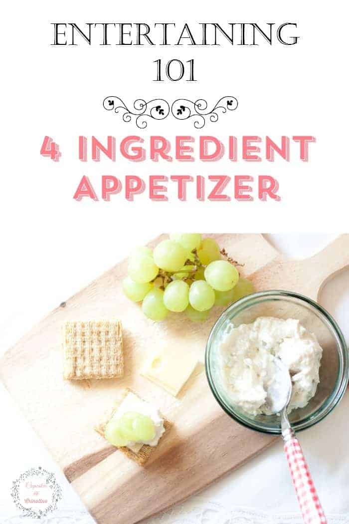 Entertaining 101 ~ 4 Ingredient Appetizer ~ chicken salad divine from cupcakesandcrinoline.com