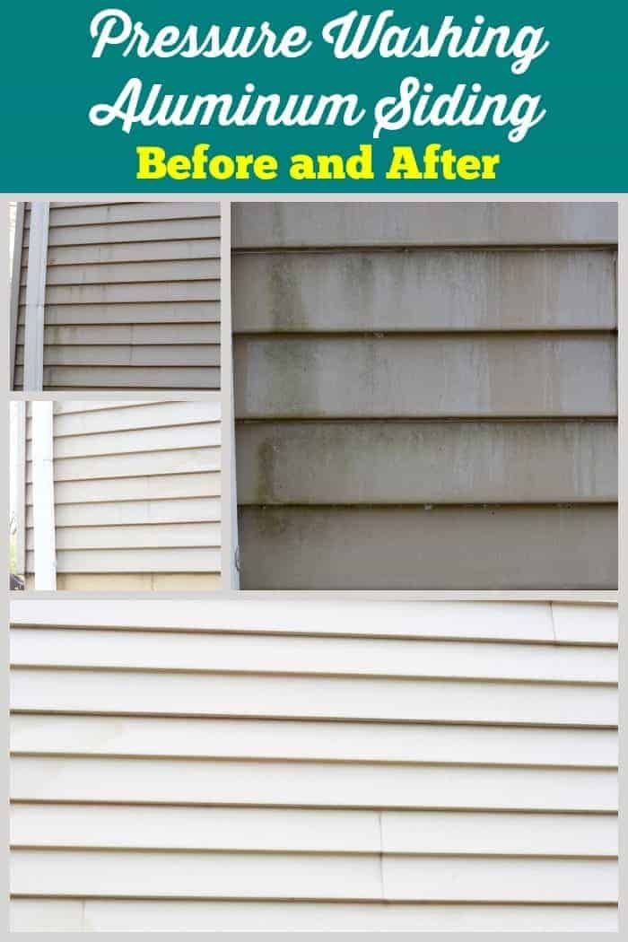 Pressure Washing Aluminum Siding ~ getting rid of mold from cupcakesandcrinoline.com #ad #ZepSocialstars