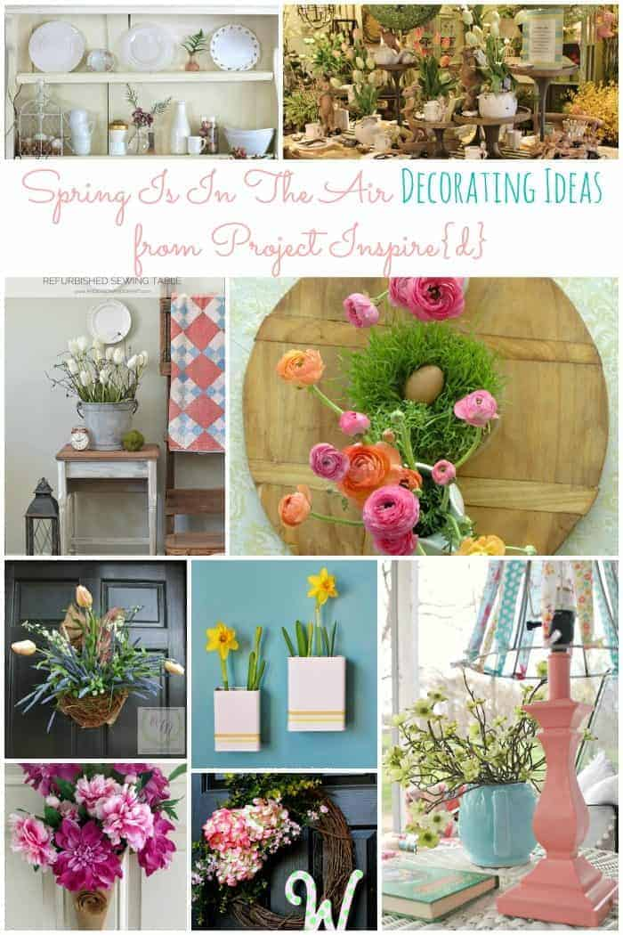 Spring Is In the Air Decorating Ideas from Project Inspire{d} at cupcakesandcrinoline.com