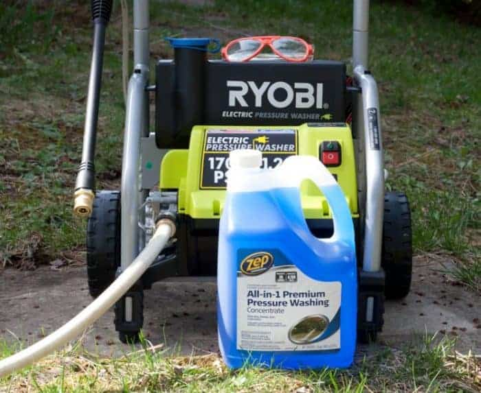 Zep All-in-1 Premium Pressure Washing Concentrate#ZepSocialstars #ad