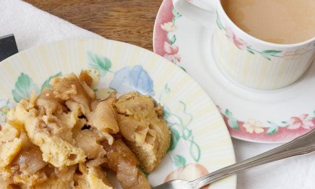 Baked Apple Pancake ~ Cast Iron Baking