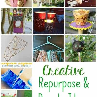 Creative repurpose and recycle Ideas