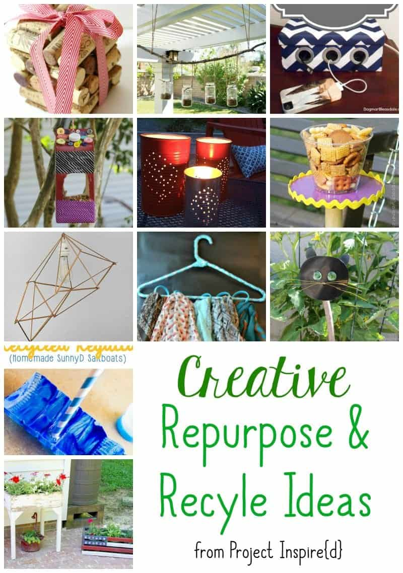 Amazing Repurpose And Recyle Ideas The How To Home