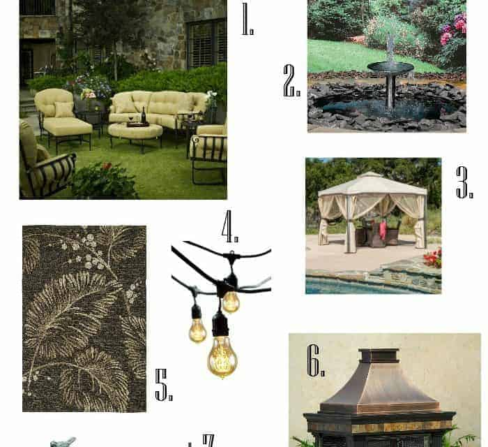 Summer Patio Inspiration and Ideas