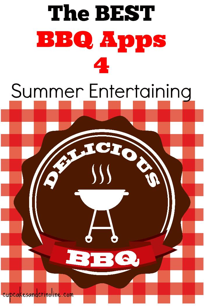The Best BBQ Apps for summer entertaining - cupcakesandcrinoline.com