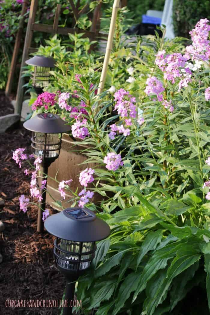 The Secret to Creating a Cozy and Charming Outdoor Space ~ outdoor lighting cupcakesandcrinoline.com