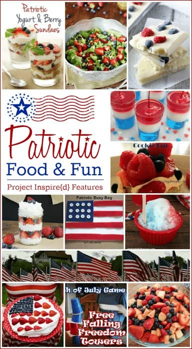 12 Patriotic Food and Fun Ideas from Project Inspire{d} at cupcakesandcrinoline.com
