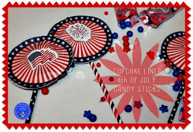 4th of July Candy Sticks