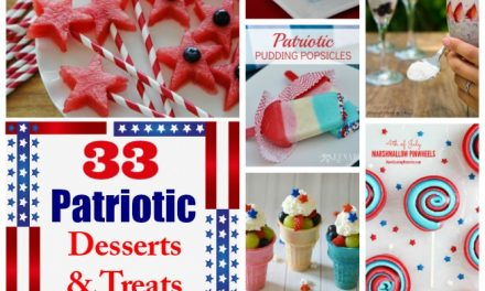 33 Fabulous Patriotic Fourth of July Treats and Desserts