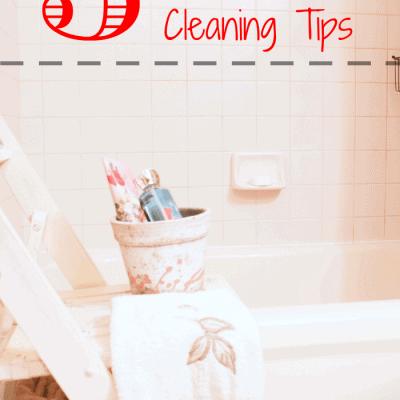 5 Scrub-Free Bathroom Cleaning Tips from cupcakesandcrinoline.com