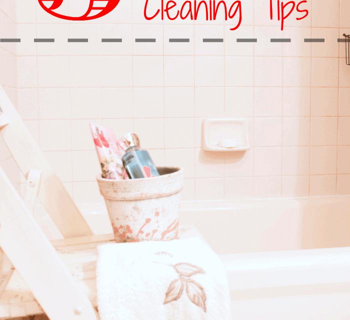 5 Scrub-Free Bathroom Cleaning Tips