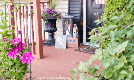 Welcome Home Summer ~ Welcoming Front Porch Decor