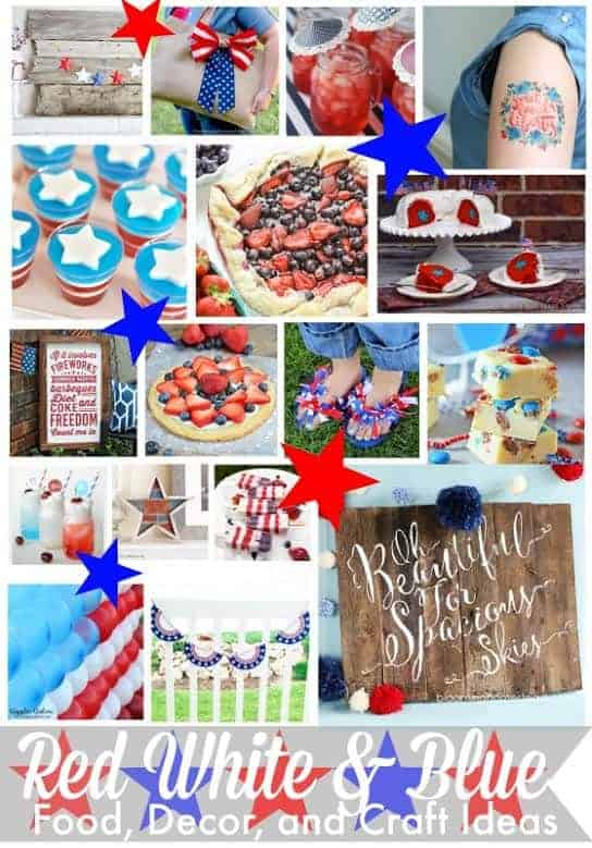 Ultimate Red White and Blue Roundup at cupcakesandcrinoline.com