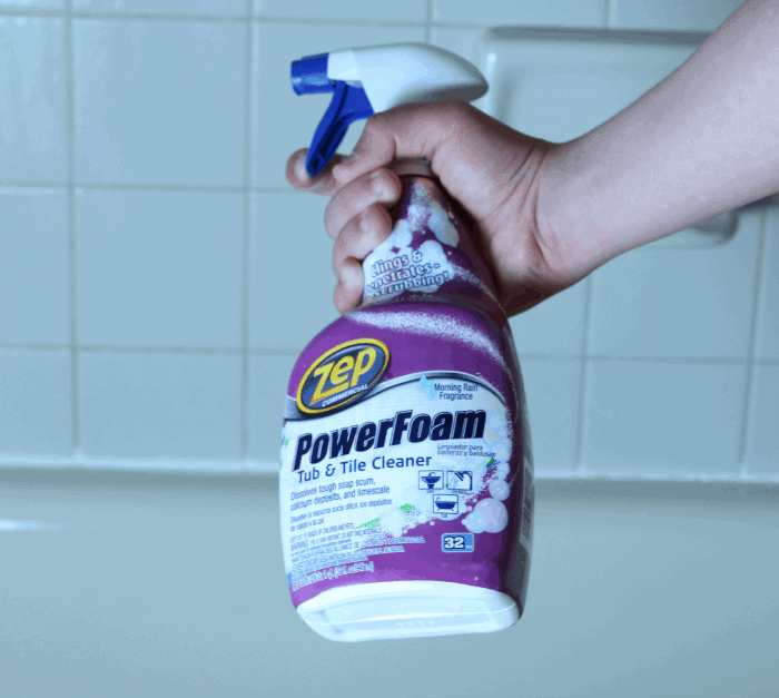 Zep Commercial PowerFoam Tub & Tile Cleaner