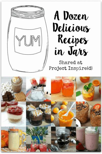 12 Delicious Recipes in Jars