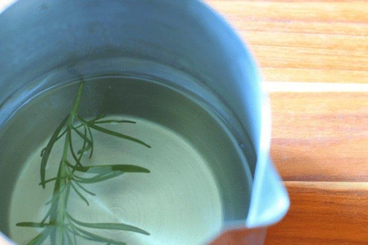 Fresh Rosemary Syrup