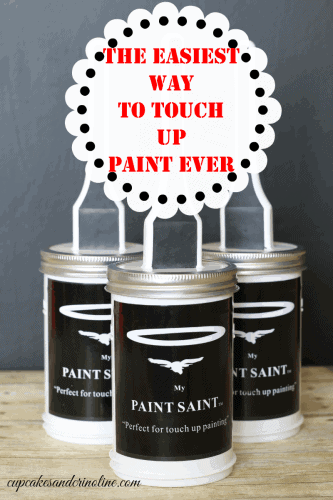 My Paint Saint ~ The Easiest Way to Touch Up Paint Ever ~ find out more at cupcakesandcrinoline.com