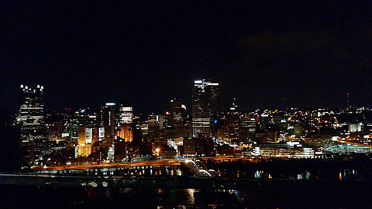 View of downtown Pittsburgh from Mt. Washington June 2015 - cupcakesandcrinoline.com