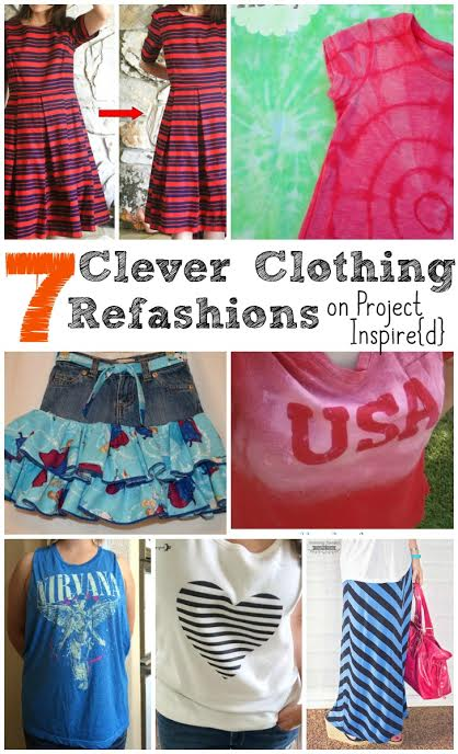 7 Clever Clothing Refashions ~ Upcycled Style