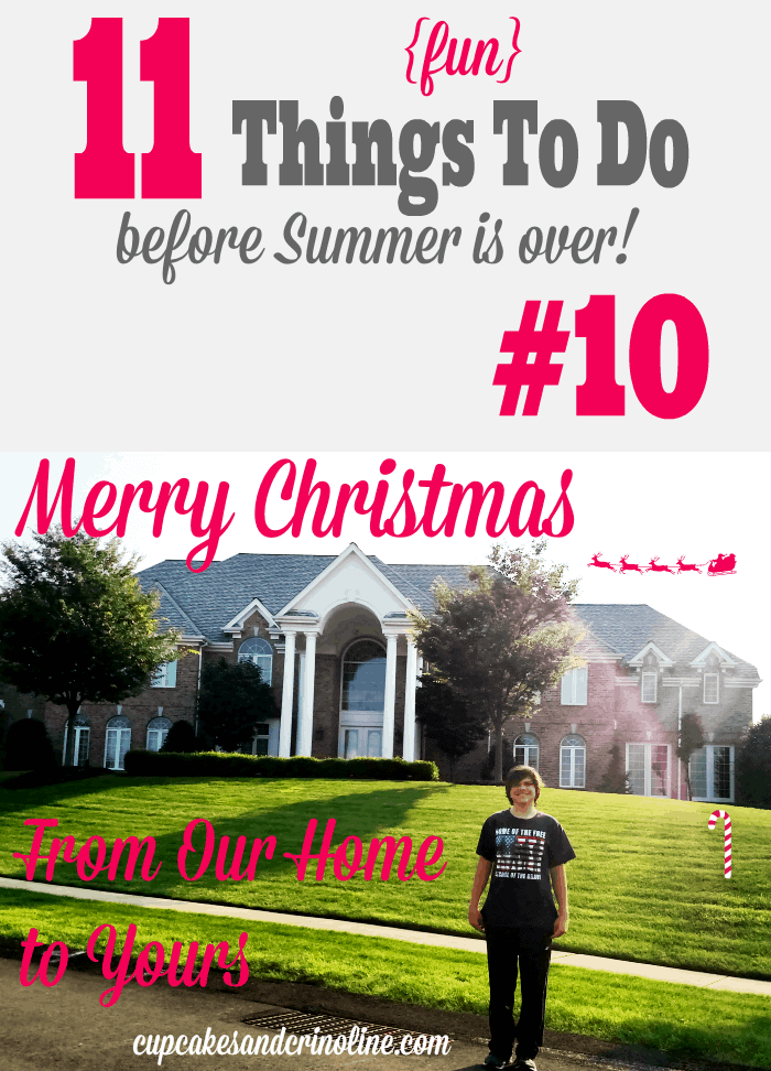 11 Fun Things To Do Before Summer Is Over! #10 - find the complete list at cupcakesandcrinoline.com