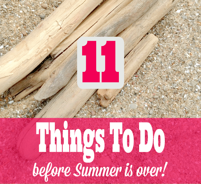 11 Things To Do Before Summer Is Over