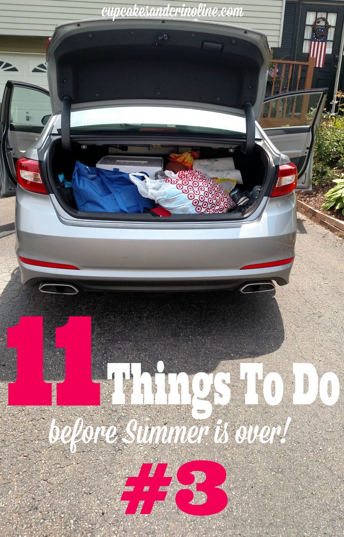 11 Things To Do Before Summer Is Over #3 - find the complete list at cupcakesandcrinoline.com
