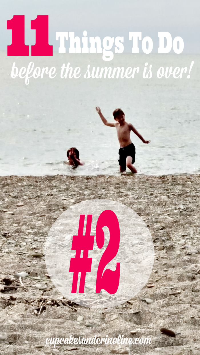 11 Things To Do Before the Summer Is Over #2 - Find the Complete list at cupcakesandcrinoline.com