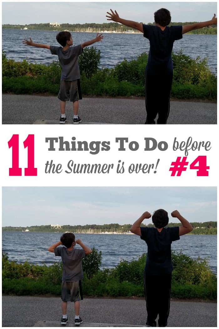 11 Things to do before the summer is over #4 find the full list at cupcakesandcrinoline.com