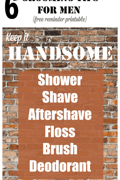 Keep it Handsome – 6 Daily Grooming Tips for Young Men