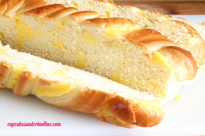 Brioche Make-Ahead French Toast Casserole from cupcakesandcrinoline.com