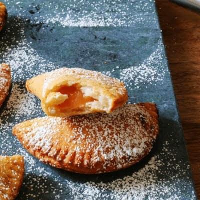 Homemade Peach Pies from cupcakesandcrinoline.com