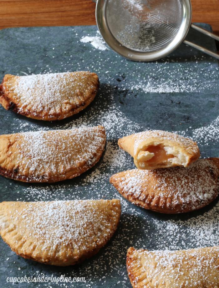 Peach Hand Pies from cupcakesandcrinoline.com